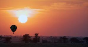 Afrikansk soluppgång Royaltyfri Bild