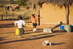 afrikansk sport Fotografering för Bildbyråer