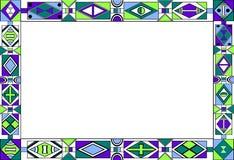 afrikansk stam- konstrammodell s Arkivfoton