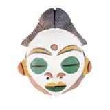 Afrikansk stam- maskering Arkivbilder