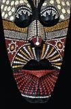 Afrikansk stam- maskering Arkivbild