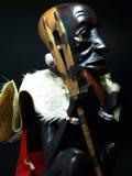 afrikansk statuette royaltyfri bild