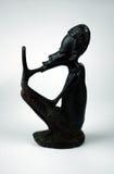 afrikansk statuette Royaltyfria Bilder