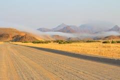 afrikansk väg Royaltyfria Bilder