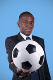 afrikansk ventilatorfotboll Royaltyfria Bilder