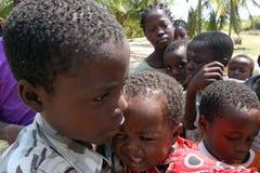 Afrikanska barn Arkivfoto