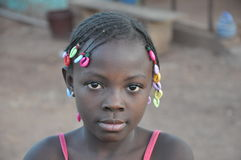 Afrikanska barn Arkivfoton