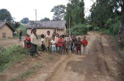 Afrikanska barn royaltyfria bilder