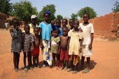 afrikanska barn royaltyfria foton