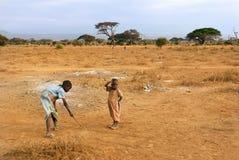 Afrikanska barn, Kenya Fotografering för Bildbyråer