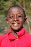Afrikanska barn som lider från HJÄLPMEDELvirus i byn av Pom Fotografering för Bildbyråer