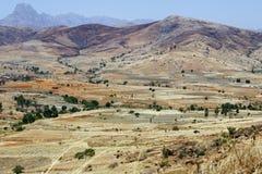 Afrikanska berg, Andringitra nationalpark Royaltyfri Foto