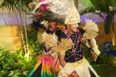 afrikanska dansare Arkivbild