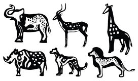 afrikanska djur Royaltyfri Foto