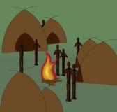 afrikanska infödingar Arkivbild