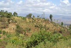 Afrikanska landskap Arkivbilder