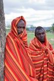 afrikanska män två Royaltyfria Foton