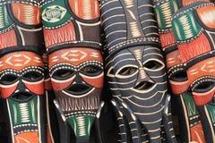 afrikanska maskeringar Arkivfoton