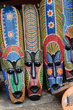afrikanska maskeringar Royaltyfria Foton