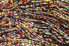 afrikanska pärlor Royaltyfri Bild