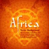 Afrikanska stam- etniska Art Background Arkivbilder