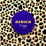 Afrikanska stam- etniska Art Background Royaltyfri Fotografi