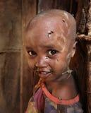 afrikanskt barn Arkivfoton