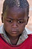 afrikanskt barn Arkivbilder
