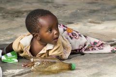 afrikanskt barn Royaltyfri Fotografi