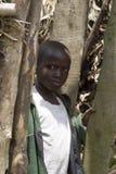 Afrikanskt barn i Rwanda Royaltyfri Fotografi
