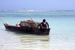 afrikanskt fartygfiske Royaltyfri Bild