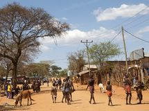 Afrikanskt folk Royaltyfria Foton