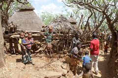 Afrikanskt folk Royaltyfri Bild
