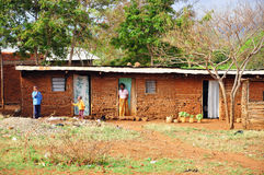 afrikanskt hus Royaltyfri Fotografi