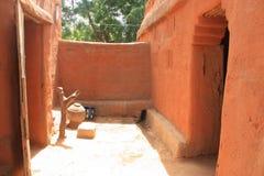 afrikanskt hus Royaltyfri Bild