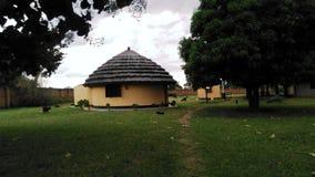 afrikanskt hus Arkivfoto
