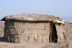 afrikanskt hus Arkivfoton
