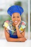 Afrikanskt kvinnahem royaltyfria foton