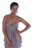 Afrikanskt posera för kvinnlig Royaltyfri Fotografi