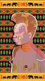 afrikanskt skönhetbarn Arkivfoton