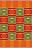 Afrikanskt tryck Torkdukekente seamless modell stock illustrationer