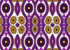 Afrikanskt trycktyg, etnisk handgjord prydnad för dina geometriska beståndsdelar för för design, etniska och stam- motiv Afro tex stock illustrationer
