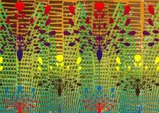 Afrikanskt trycktyg, etnisk handgjord prydnad f?r dina geometriska best?ndsdelar f?r f?r design, etniska och stam- motiv seamless stock illustrationer