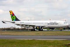 Afriqiyah Airways royalty free stock photos
