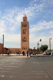 Afrique - Maroc - Marrakech Arkivfoto
