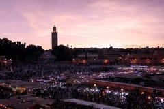 Afrique - Maroc - Marrakech Royaltyfria Bilder