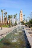 Afrique - Maroc - Marrakesh Fotografie Stock Libere da Diritti