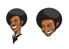 Afro-américain Images libres de droits