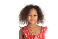 Free Afro American Beautiful Girl Children With Black C Stock Image - 23565661