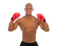 Afro american bodybuilder Royalty Free Stock Images